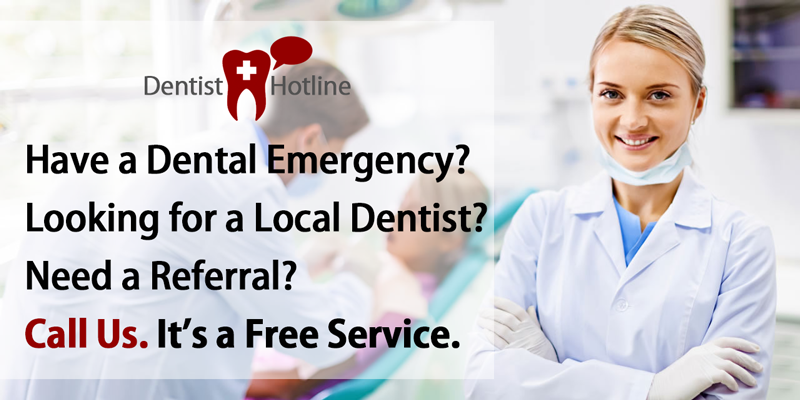 Dentist Hotline - Free Referral Services
